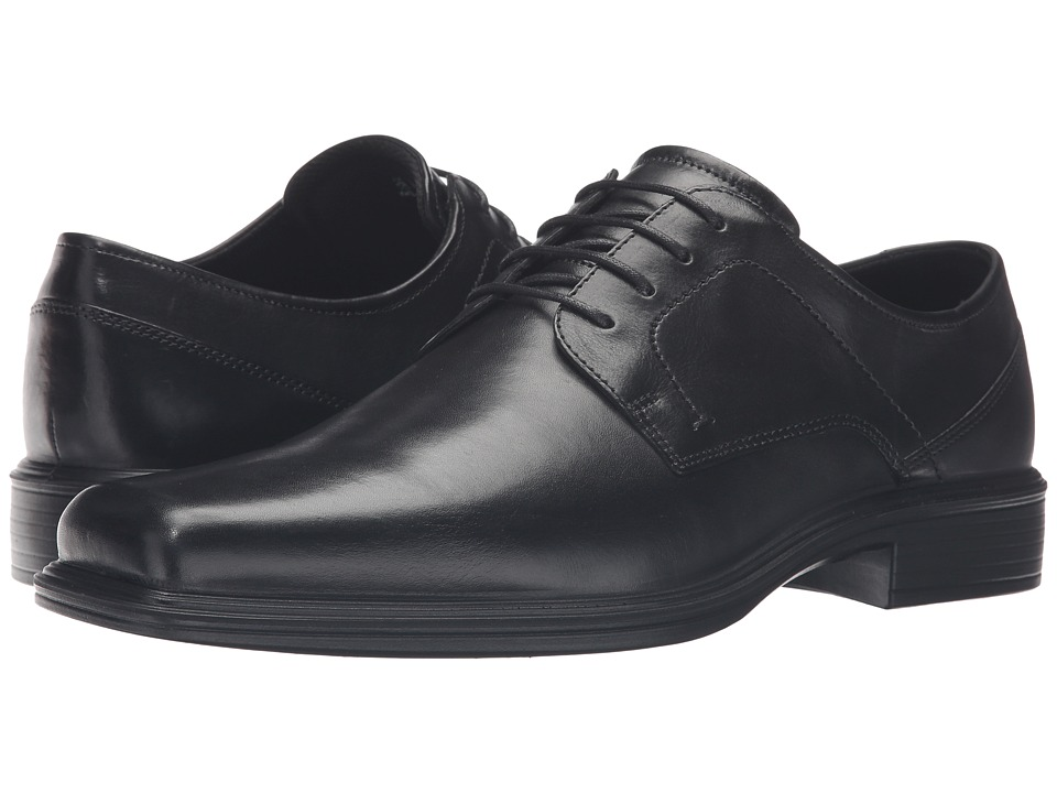 ECCO - Johannesburg Plain Tie (Black) Men