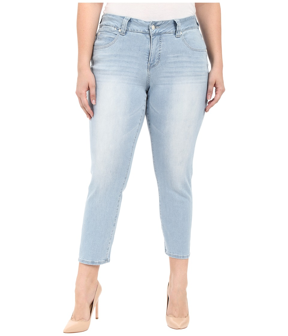 Jag Jeans Plus Size Plus Size Penelope Ankle in Republic Denim Blue Wonder Womens Jeans