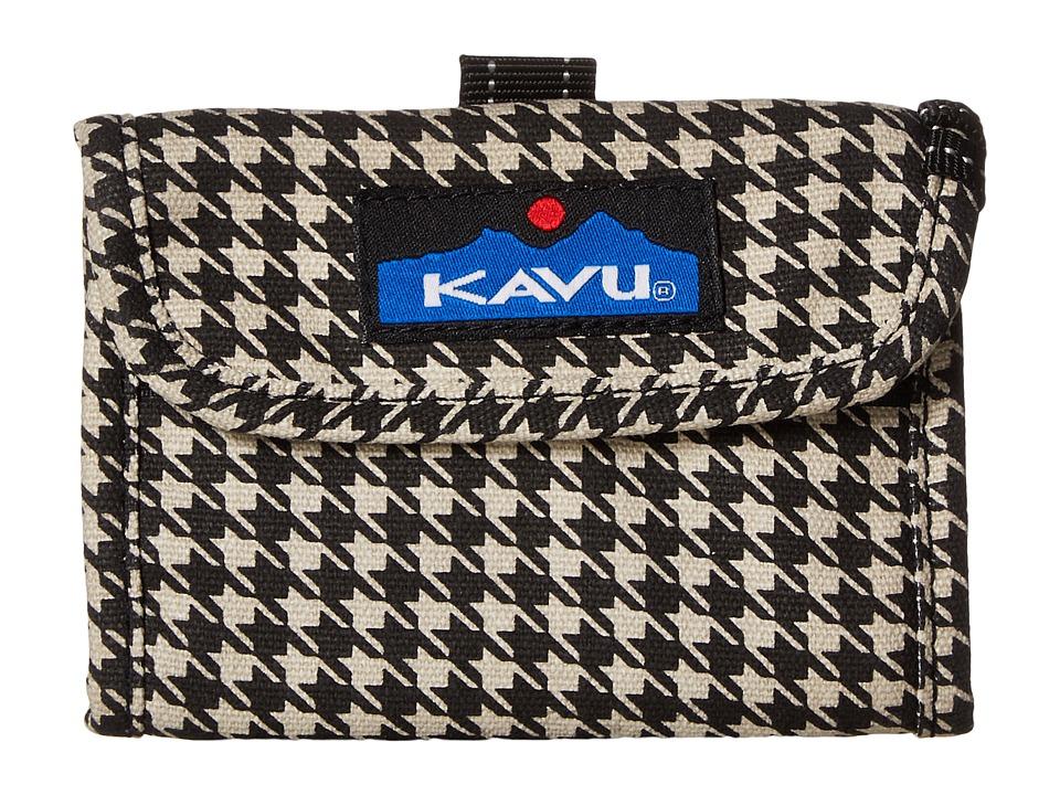 KAVU - Wally Wallet (Houndstooth) Handbags