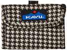 KAVU Wally Wallet (Houndstooth)