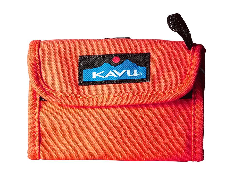 KAVU - Wally Wallet (Mandarin) Handbags