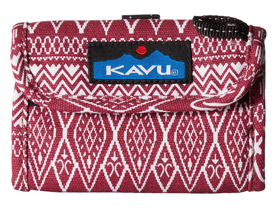 KAVU - Wally Wallet (Sangria) Handbags
