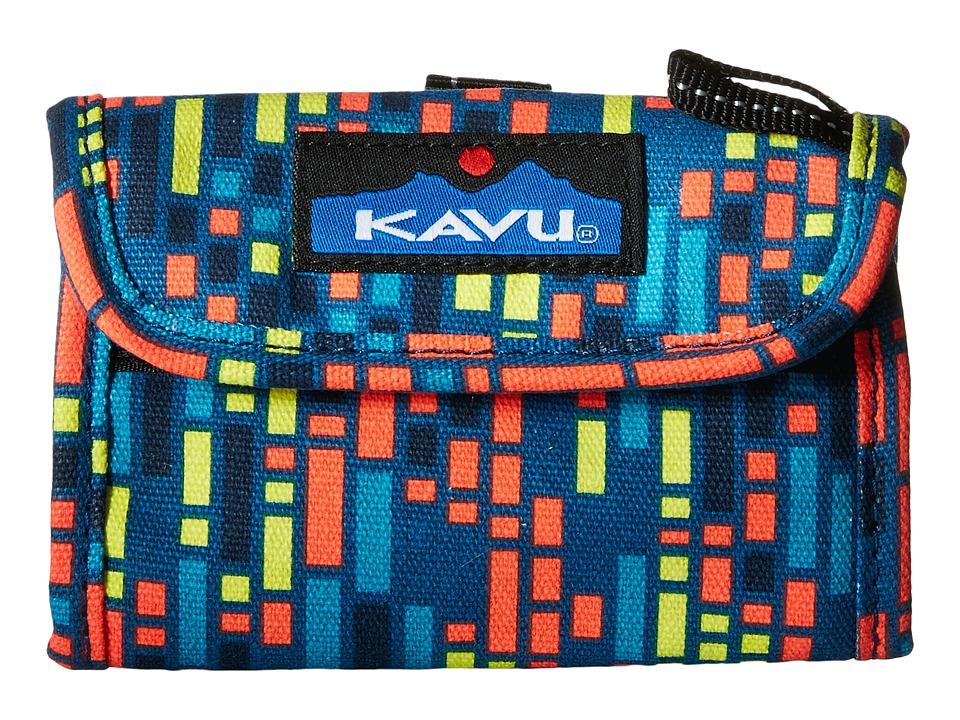 KAVU - Wally Wallet (Electric Rain) Handbags