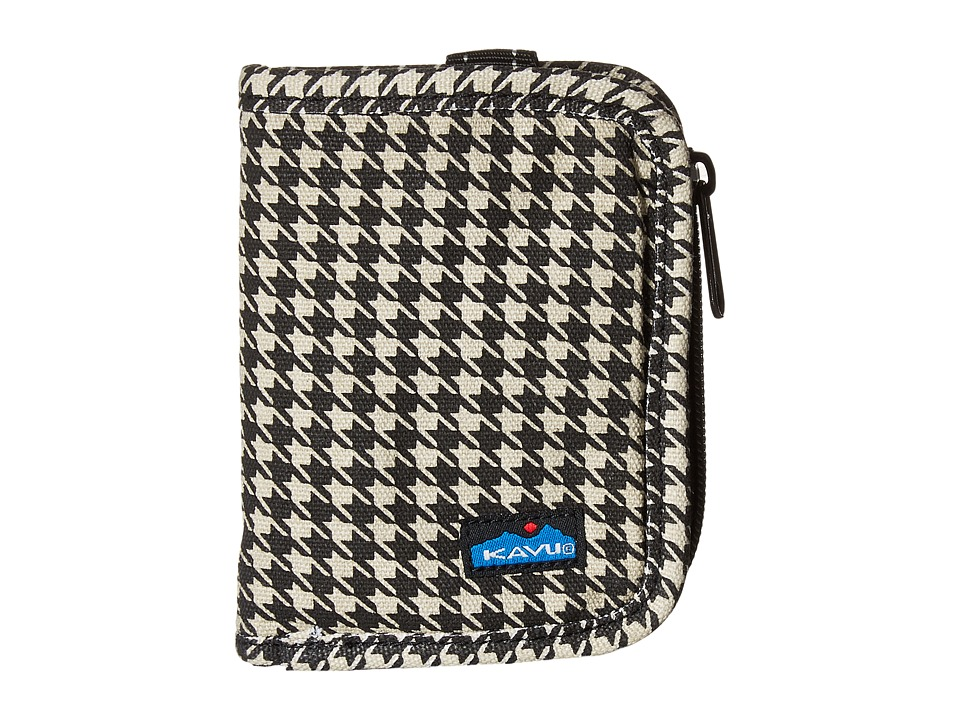 KAVU - Zippy Wallet (Houndstooth) Bags