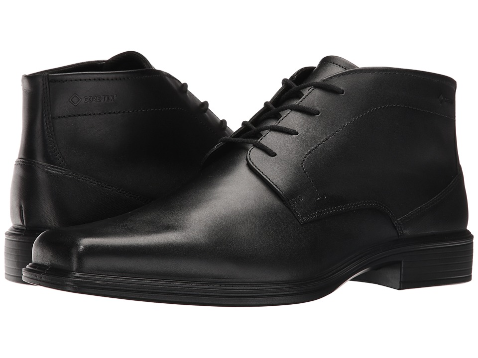 ECCO Johannesburg GTX Boot (Black) Men