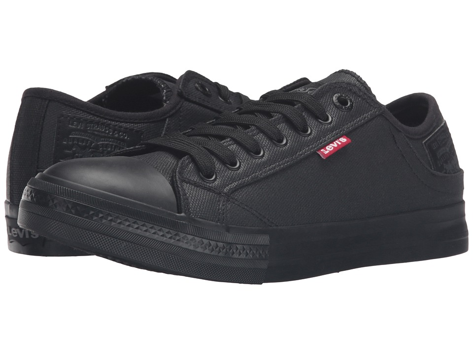 Levis(r) Shoes - Stan Buck II (Black Mono) Mens Lace up casual Shoes