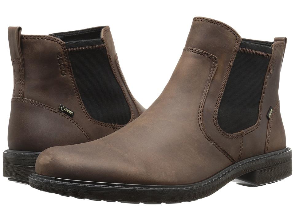 ECCO Turn GTX Chukka Boot (Cocoa Brown) Men