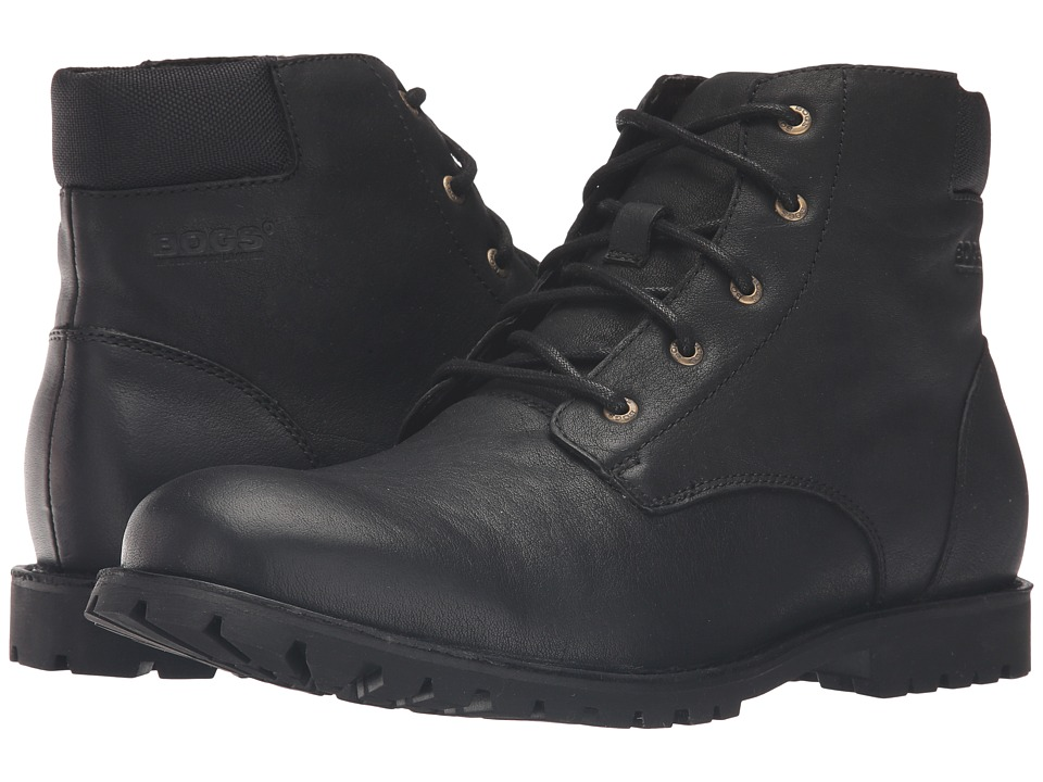 Bogs Johnny 5-Eye Boot (Black) Men