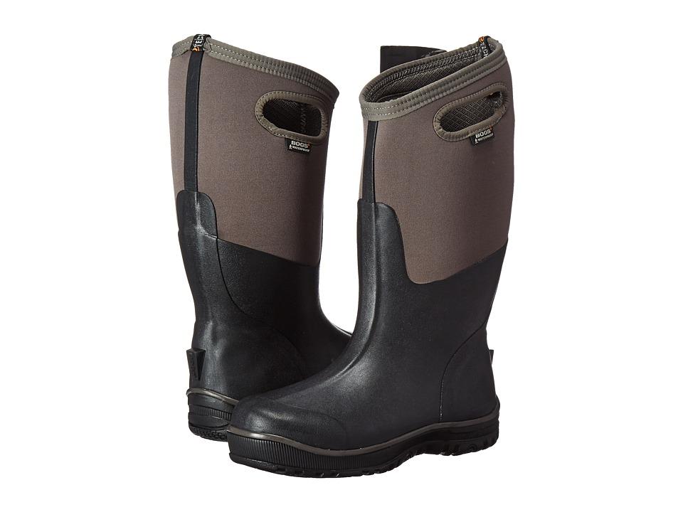 Bogs Ultra Cool Tech Tall Boot (Black/Gray) Men