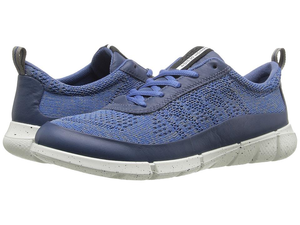 ECCO Sport Intrinsic Knit (Denim Blue/Moon) Women
