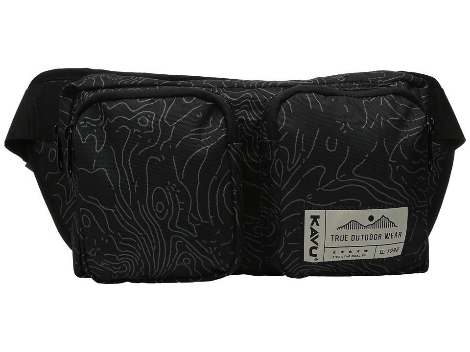 KAVU - Pacer Pack (Black Topo) Bags