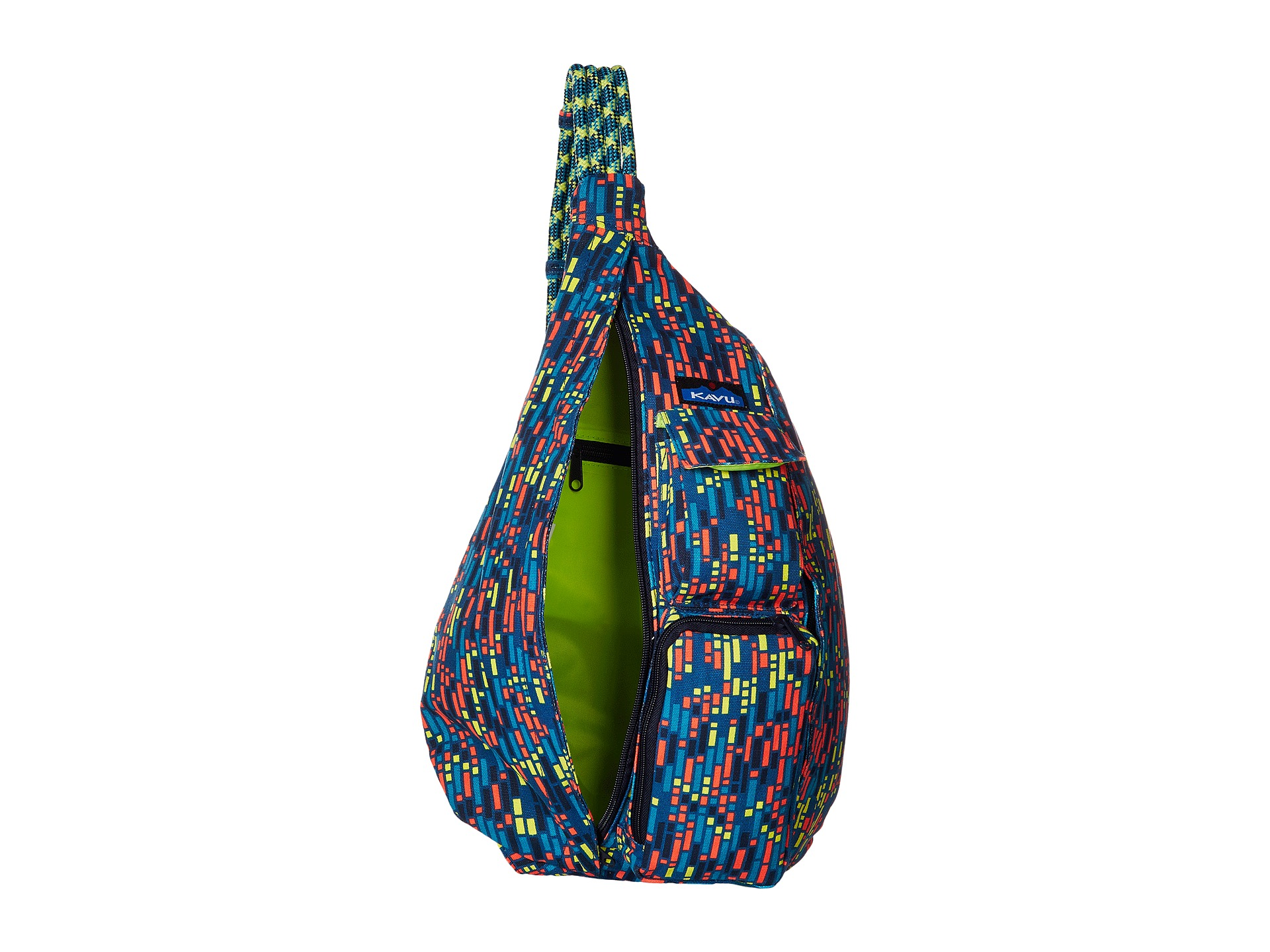 kavu rope bag electric zappos free shipping
