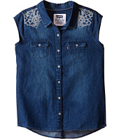 Levi's® Kids - Tubular Short Sleeve Denim Top (Big Kids)