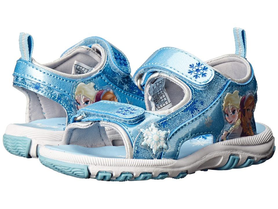 Josmo Kids Frozen Lighted River Sandal Toddler/Little Kid Blue Girls Shoes