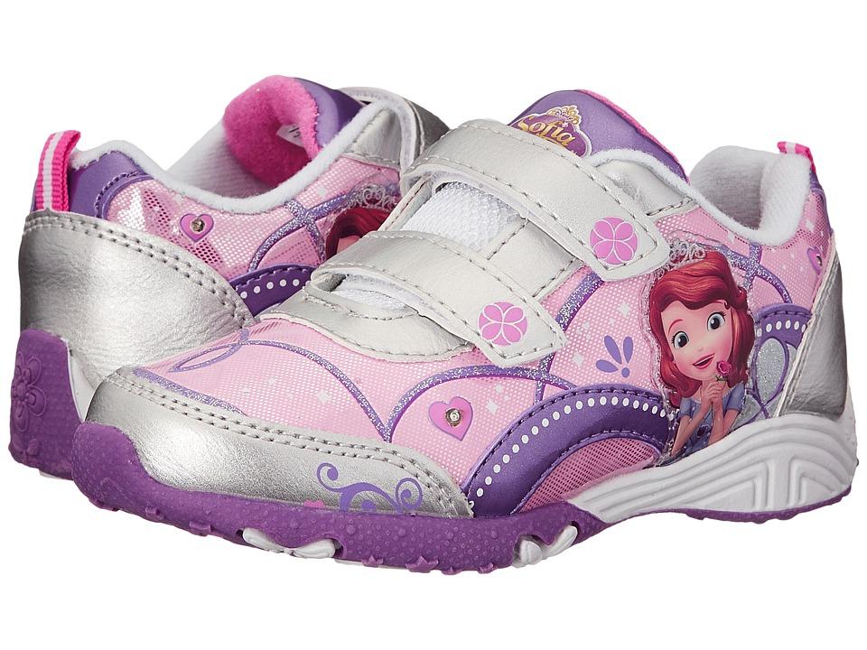Josmo Kids Sophia Sneaker Toddler/Little Kid Silver/Purple Girls Shoes
