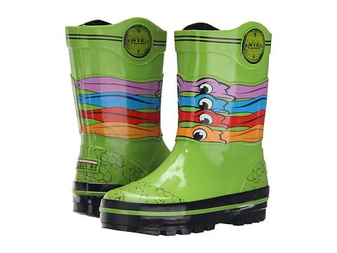 Josmo Kids Ninja Turtle Rain Boot (Toddler/Little Kid) - Green