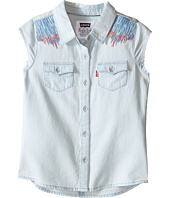 Levi's® Kids - Tubular Short Sleeve Denim Top (Little Kids)