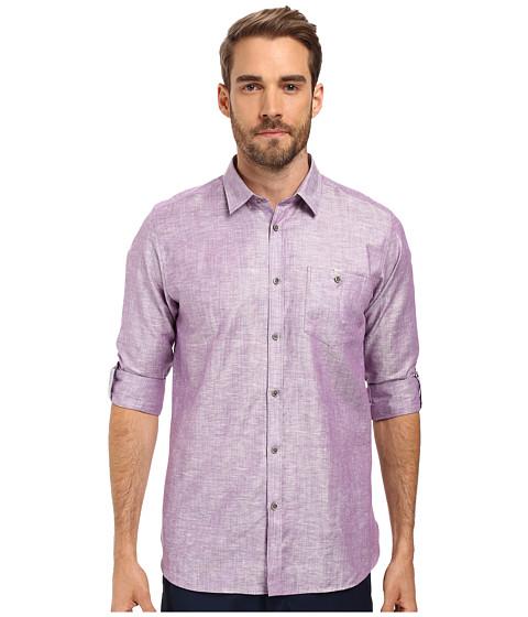 Ted Baker Linnoo Linen Roll Up Shirt