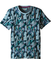 Ted Baker - Twistay Tree and Parrot Printed T-Shirt