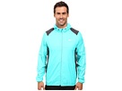 Nike Golf Printed Packable Hooded Jacket (Hyper Jade/Reflective Silver)