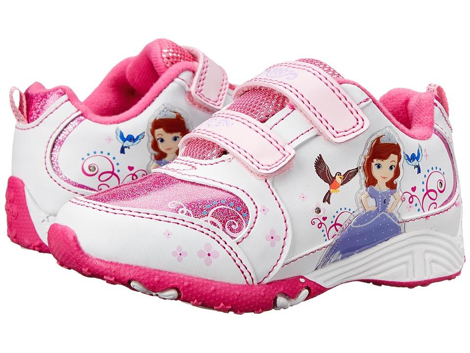 Josmo Kids Sophia Sneaker Toddler/Little Kid White/Pink Girls Shoes
