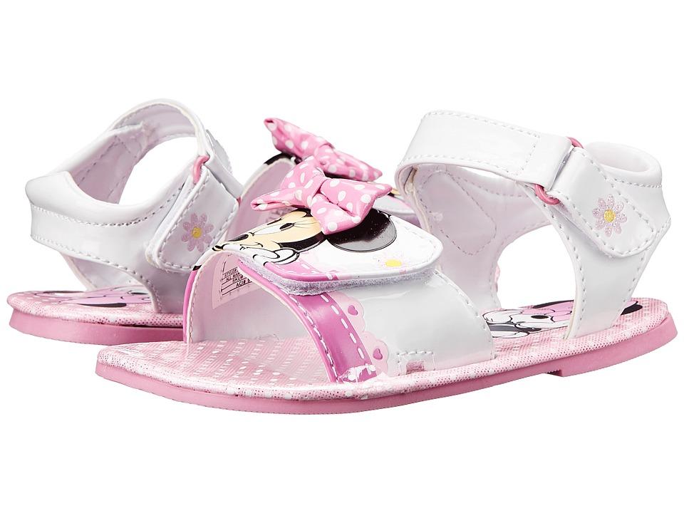 Josmo Kids Minnie Sandal Toddler/Little Kid White/Pink Girls Shoes
