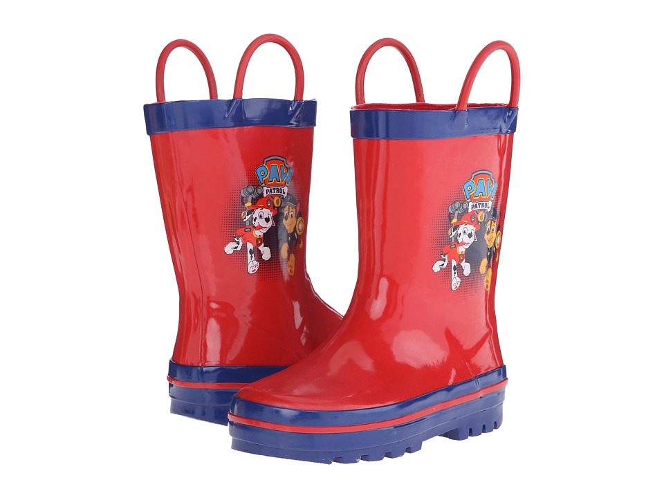 Josmo Kids Paw Patrol Rain Boot Toddler/Little Kid Red/Navy Boys Shoes