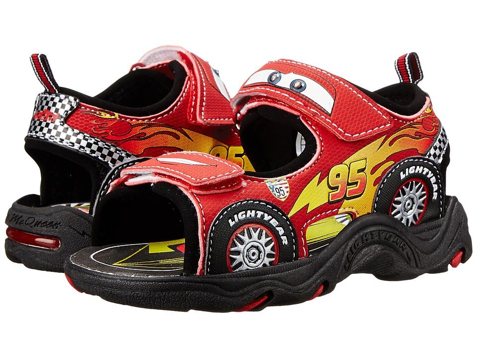 Josmo Kids Cars Sandal Toddler/Little Kid Black/Red Boys Shoes