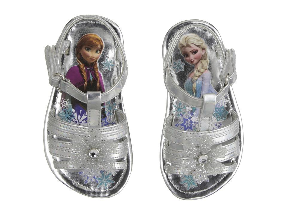 Josmo Kids Frozen Snowflake Sandal Toddler/Little Kid Silver Girls Shoes