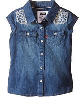 Levi's® Kids - Tubular Short Sleeve Denim Top (Toddler)