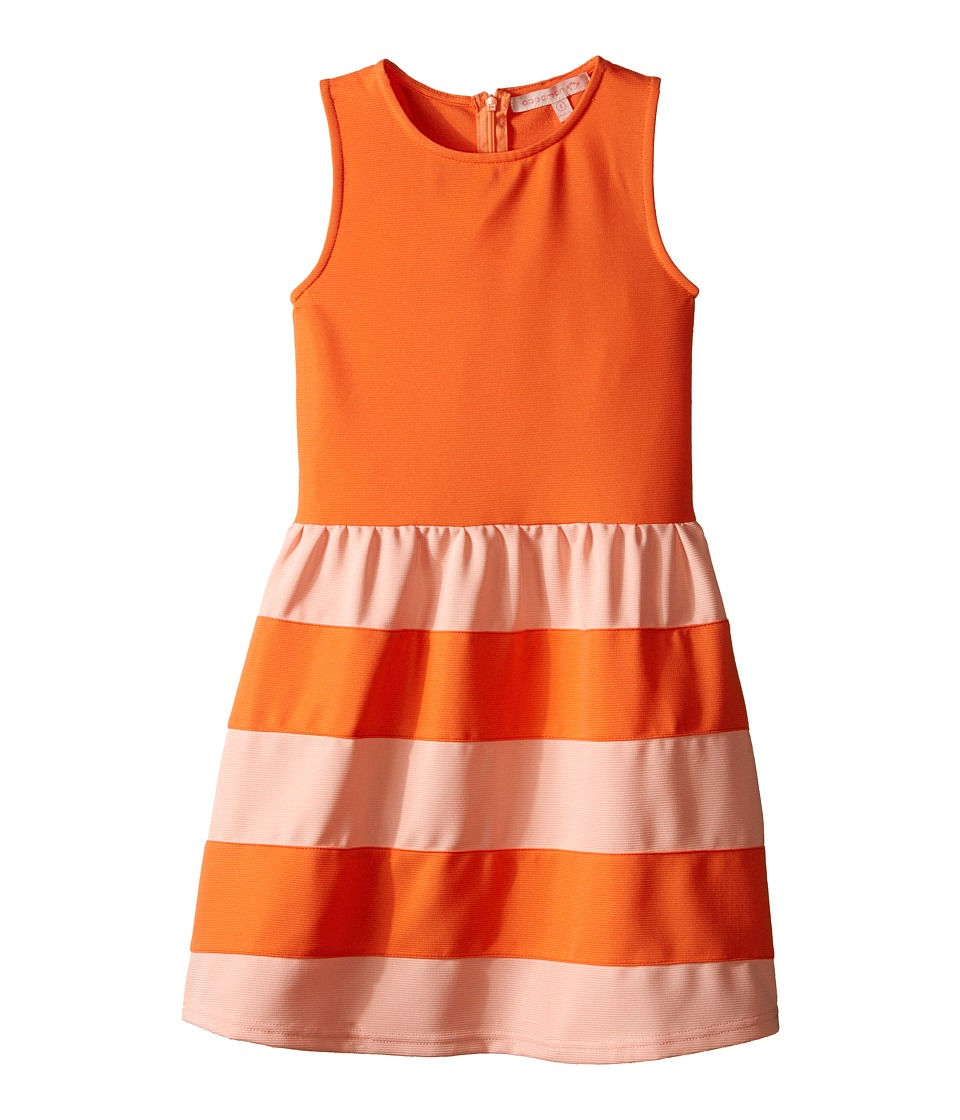 Appaman Kids Classic and Comfy Alya Dress Toddler/Little Kids/Big Kids Fusion Coral Girls Dress