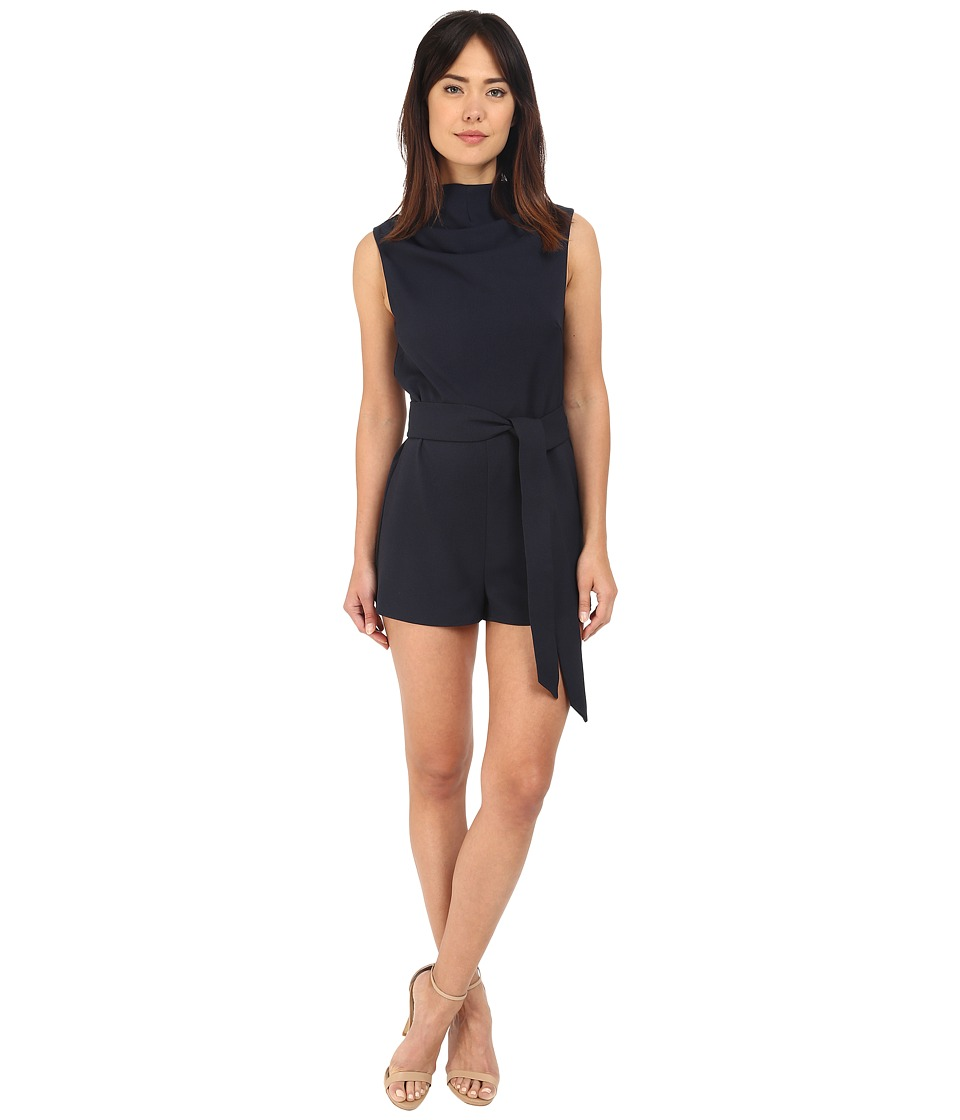 KEEPSAKE THE LABEL Essence Romper Navy Womens Jumpsuit Rompers One Piece