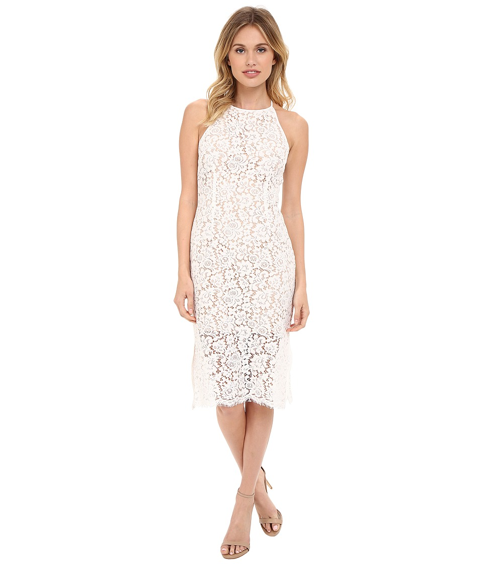 KEEPSAKE THE LABEL Let It Happen Lace Dress Ivory Womens Dress