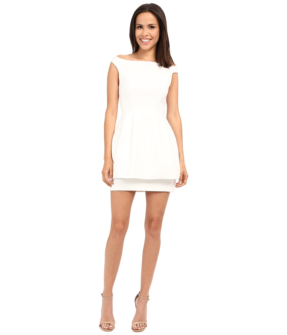 KEEPSAKE THE LABEL Disillusion Dress Ivory Womens Dress