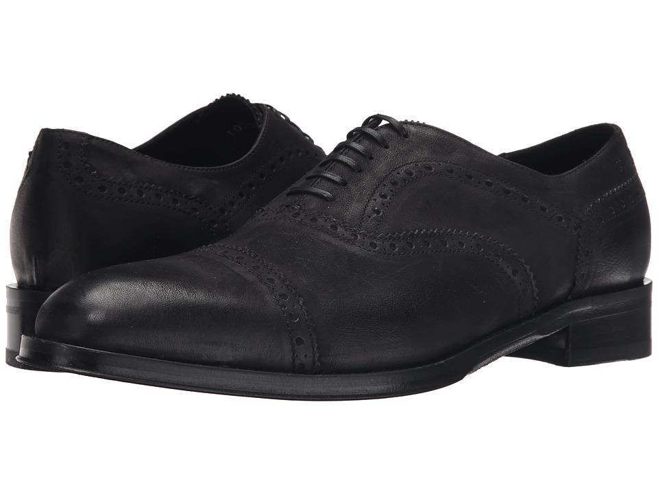 Kenneth Cole Black Label Upper East Black Mens Shoes