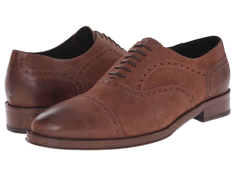 Kenneth Cole Black Label Upper East Brown Mens Shoes
