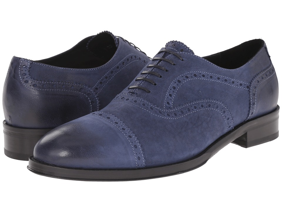 Kenneth Cole Black Label Upper East Blue Mens Shoes