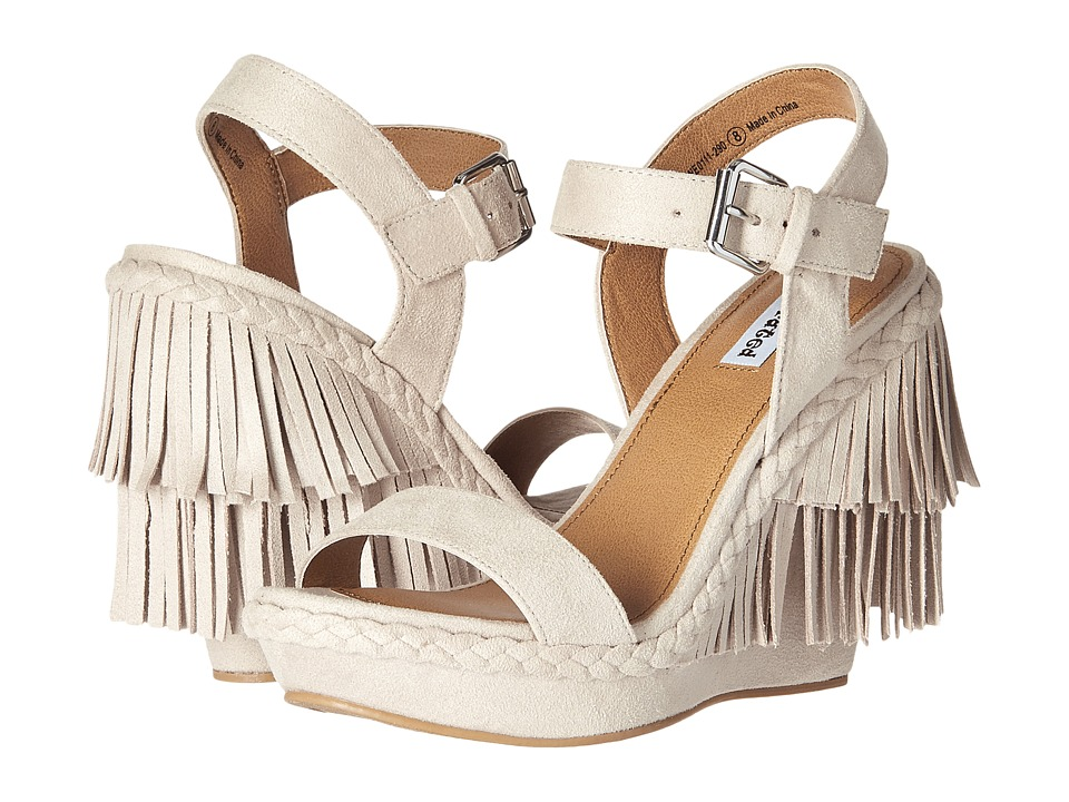Not Rated Roaring Ruby Cream Womens Wedge Shoes
