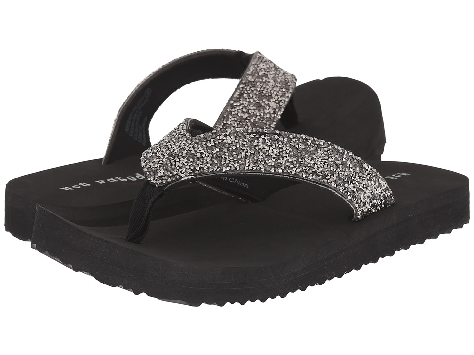 Not Rated Pedro Black Womens Sandals