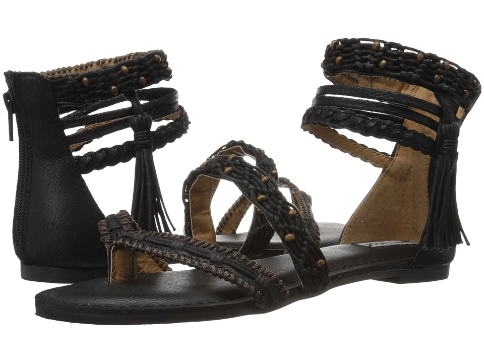 Not Rated Macramela Black Womens Sandals