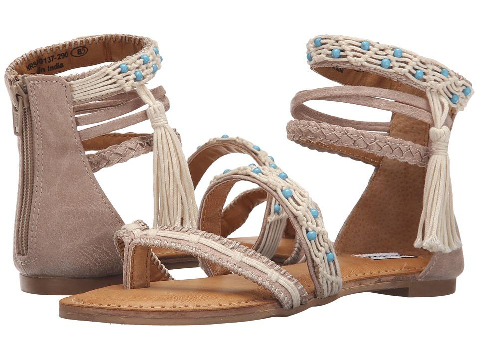 Not Rated Macramela Cream Womens Sandals