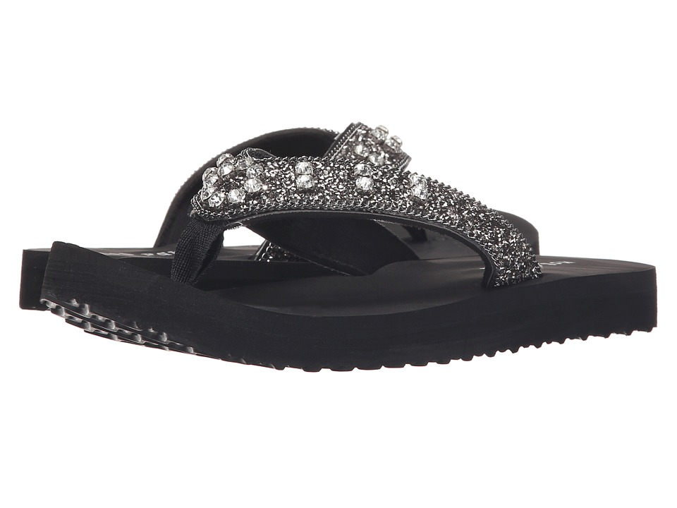 Not Rated Coutinho Black Womens Sandals