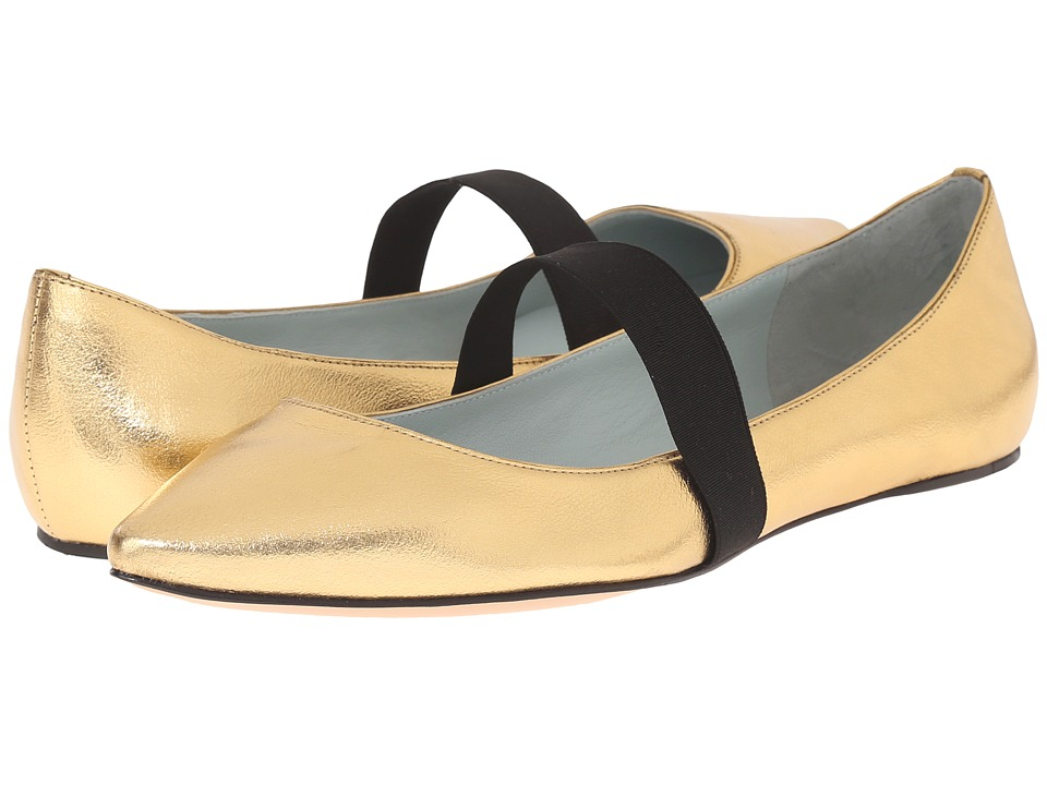 Marc Jacobs - Halsey Pointy Ballerina (Gold) Women