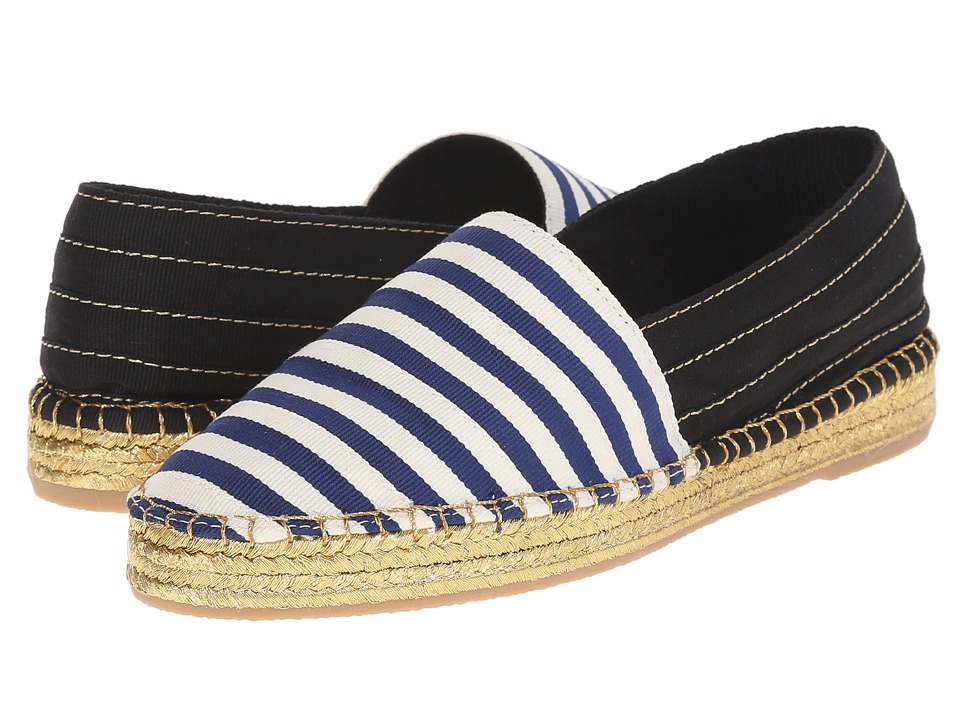 Marc Jacobs Sienna Flat Espadrille (Navy/White) Women