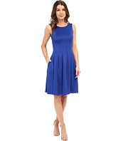Calvin Klein - Pleated Fit and Flair Dress CD6M1A6U
