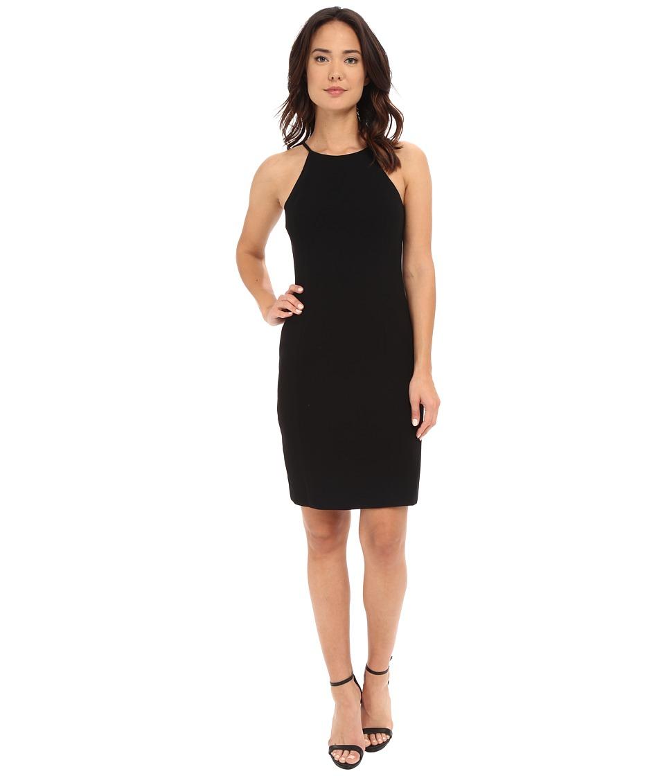 Calvin Klein Halter Neck Straight Dress CD6B1V3D Black Womens Dress