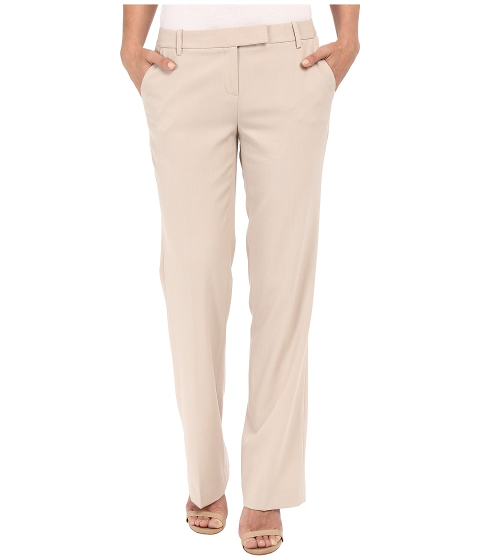 Calvin Klein - Madison Pant (Latte) Womens Casual Pants