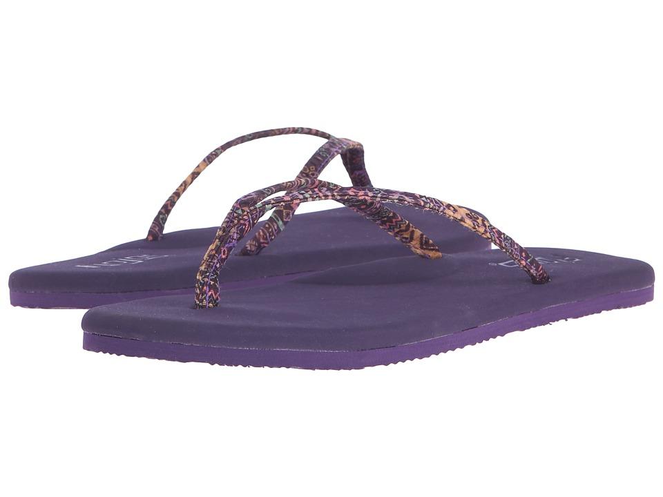 Flojos Lulu Purple Womens Sandals