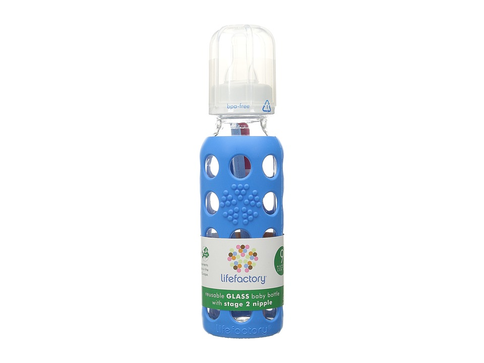 Lifefactory Baby Bottle 9oz Ocean Athletic Sports Equipment