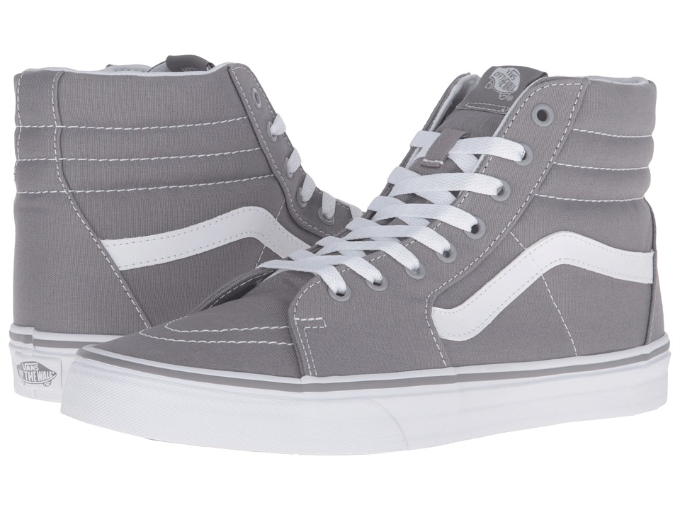 Vans SK8-Hi ((Canvas) Frost Gray) Skate Shoes